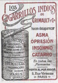 cigaros indiso dr grimault mota cannabis indica
